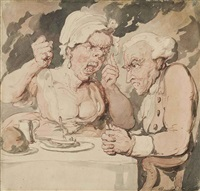 unholy matrimony by thomas rowlandson