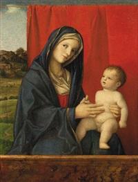 madonna con il bambino (madonna cook) by giovanni bellini