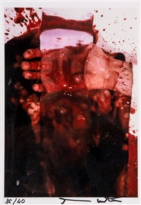 untitled by hermann nitsch