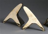 buchstützen (pair) by carl auböck