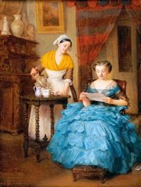 le thé et la lettre by emma adèle (blanche) roslin