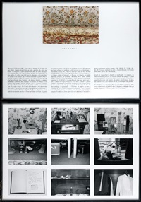 chambre 12 (diptych) by sophie calle