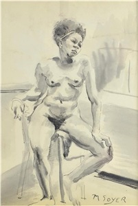 artwork by moses soyer