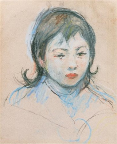 portrait denfant charly thomas by berthe morisot
