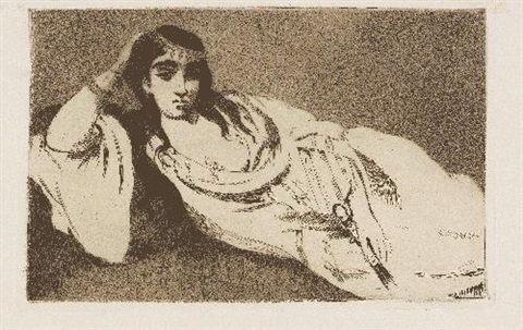 odalisque by édouard manet