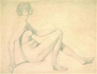 weiblicher akt by emanuel gottlieb leutze