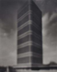 s.c. johnson building, frank lloyd wright by hiroshi sugimoto