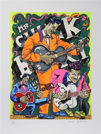 mr chuck berry by red grooms