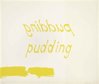 proof of pudding by bruce nauman