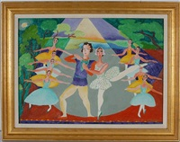 ballet dancers by malcah zeldis