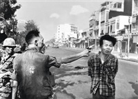 saigon (general nguyen ngoc loan executing a viet cong prisoner nguyen van lém) by eddie adams