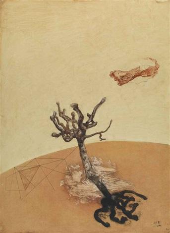 a lonely tree by zhou chunya