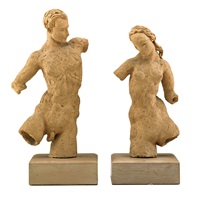 pair of figural sculptures by waylande gregory