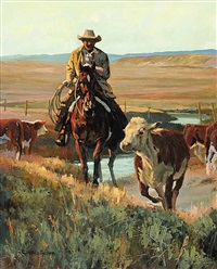 high plains waterhole by david adams