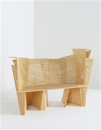 unique prototype porosity bench by steven holl