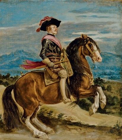 portrait équestre du roi philippe iv by diego rodríguez de silva y velásquez