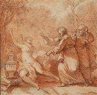 susannah and the elders by paul ponce antoine robert