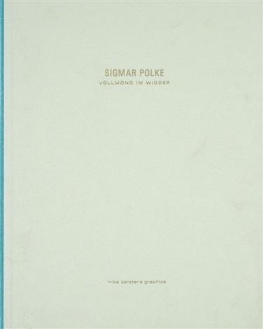 vollmond im widder portfolio of 40 by sigmar polke