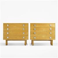dressers (pair) by j. robert swanson, pipsan swanson saarinen and eliel saarinen