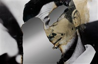 self-portrait of you + me (jean-paul belmondo) by douglas gordon
