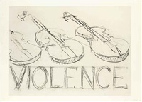 violins/violence by bruce nauman