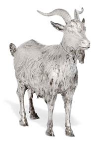 goat table ornament by neresheimer