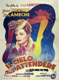 il cielo puo attendere/heaven can wait (poster) by anselmo ballester