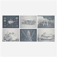 inventions: twelve around one (portfolio of 12) by buckminster fuller