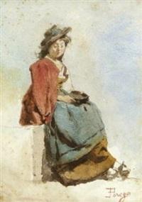 bettlerin by eugenio perego