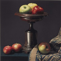 apples and urn by robert mapplethorpe