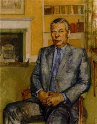 portrait of david ropner by william coldstream