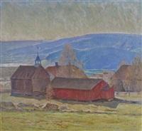 landscape by werner von hausen