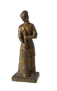 churning woman by matti haupt
