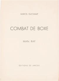 combat de boxe by man ray & marcel duchamp