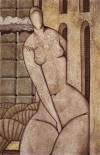 weiblicher akt by oleg drobitko