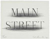 main street by ed ruscha