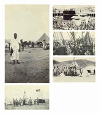 pilgramage to mecca (album of 80) by dr. muhammad al-husayni
