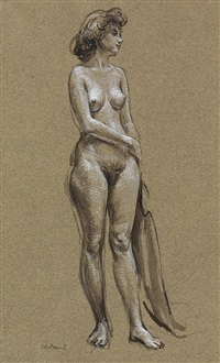 female nude by paul cadmus