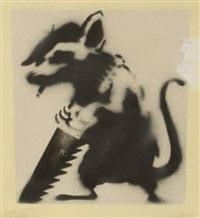 menace rat by banksy