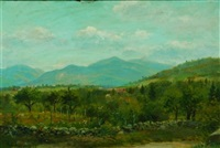 view of the mountains by george frank higgins