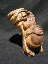 pregnant woman carved by jackson mbhazima hlungwane