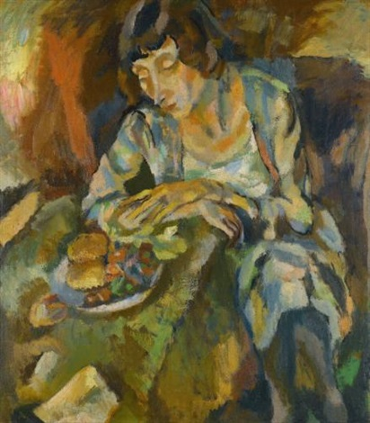 hermine aux fruits by jules pascin