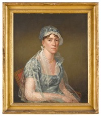 portrait of jane bell mercer of philadelphia by charles willson peale