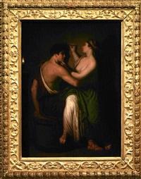 l'origine della pittura by david allan