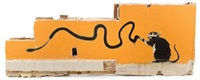 graffiti rat by banksy