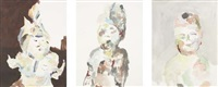 untitled (3 works) by anne chu