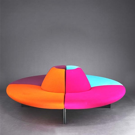 sitzinsel serpentine seating unit by tom dixon