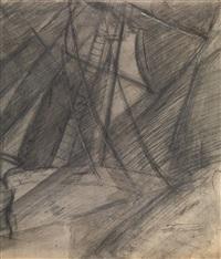 study with ship masts by vladimir tatlin