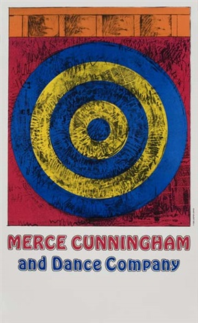 target merce cunningham and dance company by jasper johns