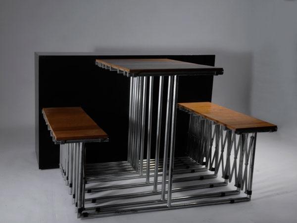 Tisch Tabula Rasa Vorserienmodell von Ginbande Design auf